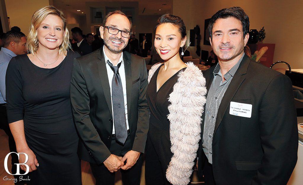 Alexi Davis  Philippe Maret  Helen Choi and Leonard Temes