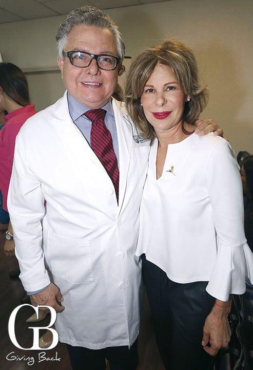 Alfonso Valenzuela y Fabiola Macklis