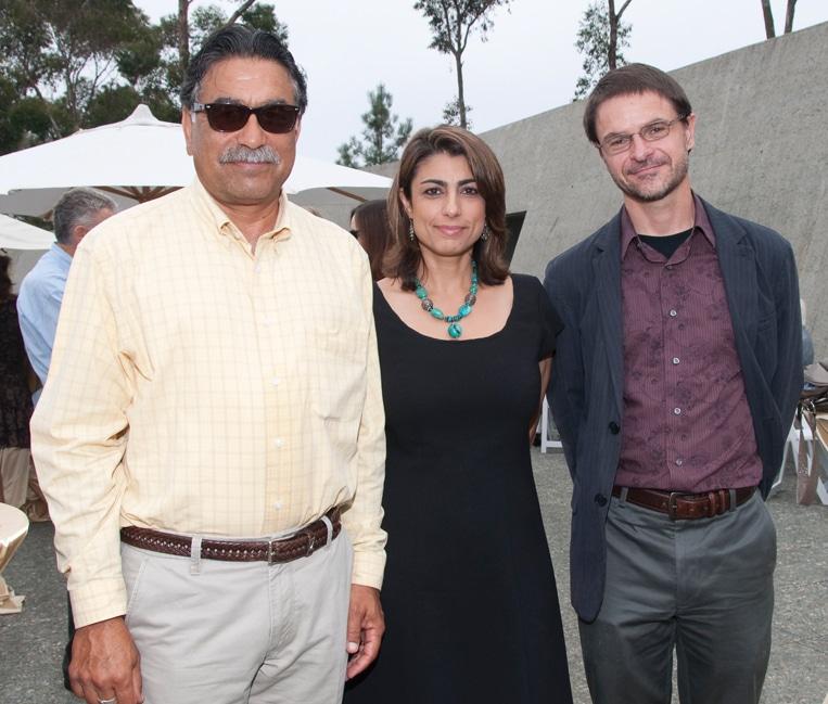 Ali Sadr, Shay Hanson and Stephen Cowen