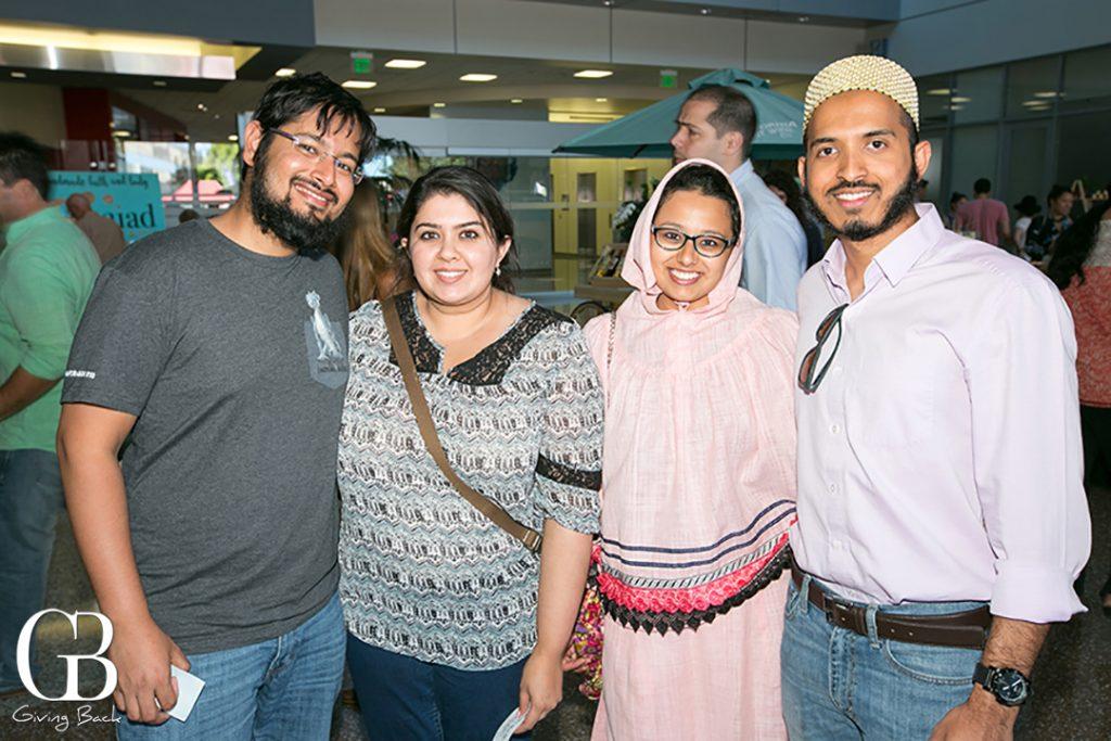 Ali and Zahra Bresswala with Batul and Ali Lanewala