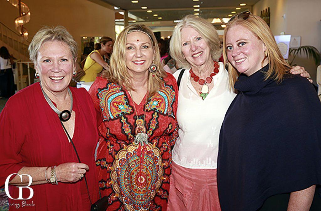Alice Barnett  Marcia Peniche  Marilyn Pillingsley and Stacy Barnett