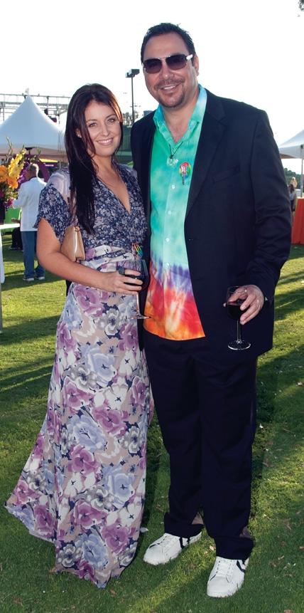 Alicia Gonzales and Ken Ramirez