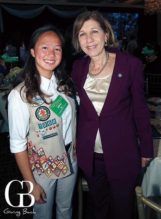 Alina Ho and Councilmember Barbara Bry