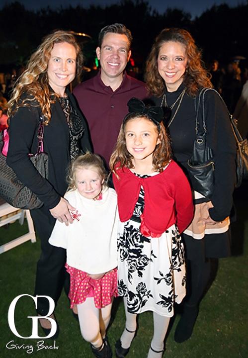 Alison Beck  Warren Johnson  Kristi Worley with Tabitha and Abigail