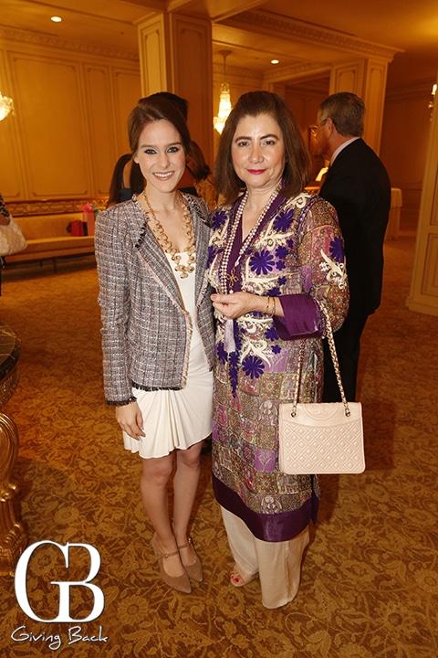 Allegra Sonza and Maria Elena Oropeza