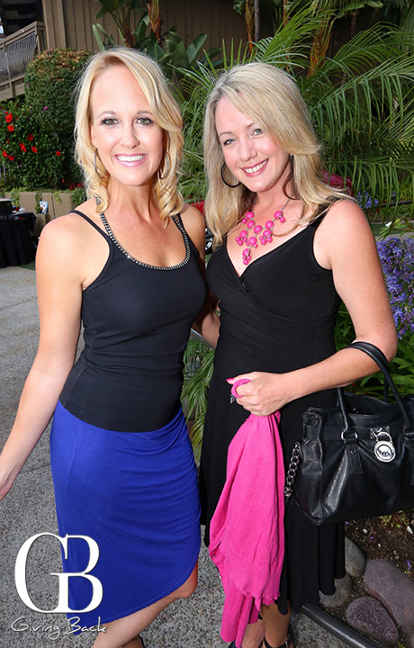 Allie Wagner and Lisa Burger