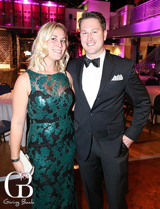 Allison Hass and Brian Churas