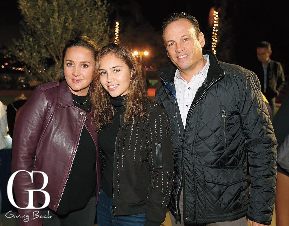 Alma  Jessica and Jesus Tarriba