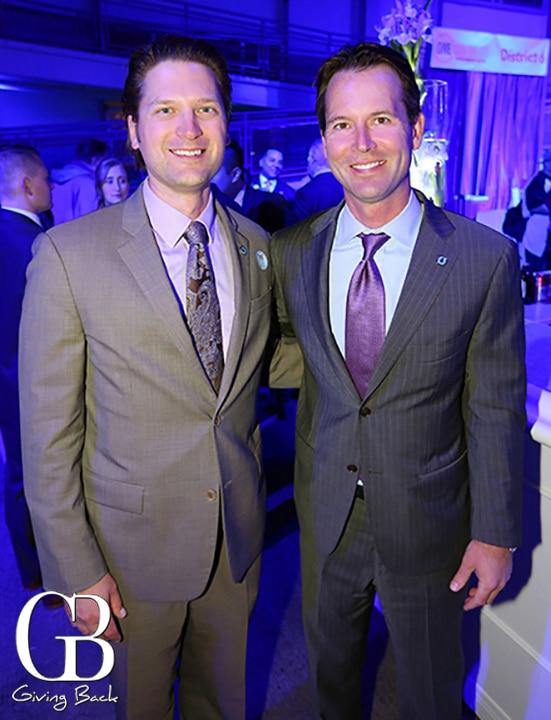Almis Udrys and Councilman Mark Kersey