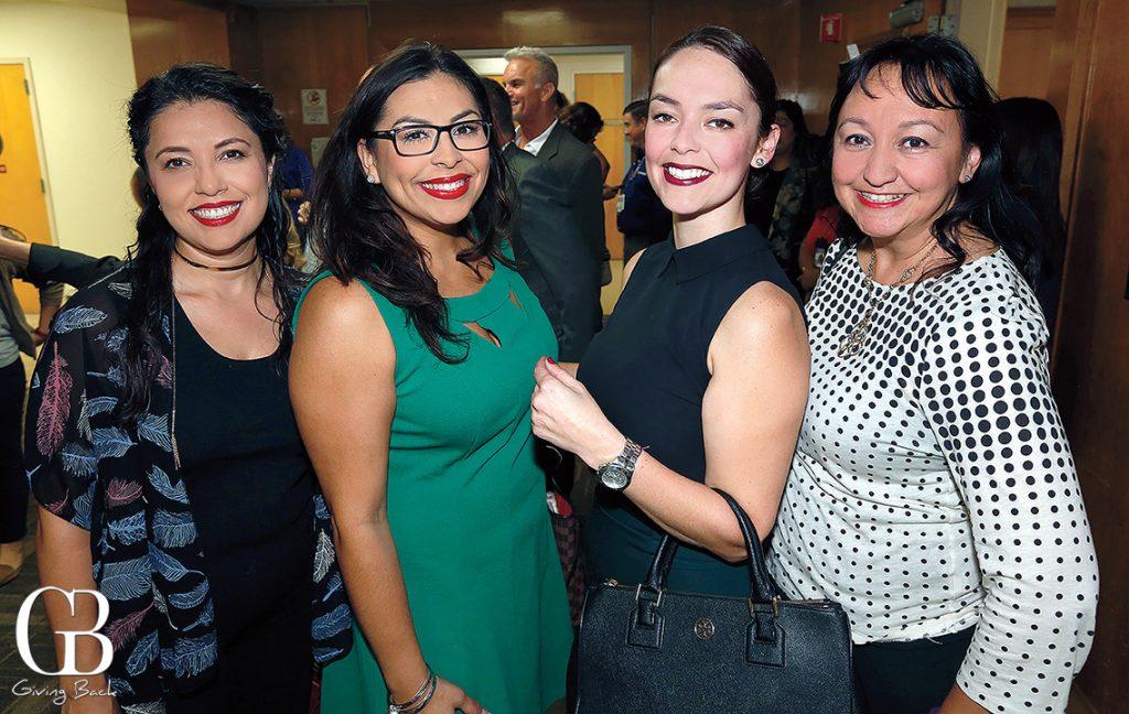 Alondra Alvarado  Rosa Maria Hernandez  Elsa Roth and Sofia Salgado