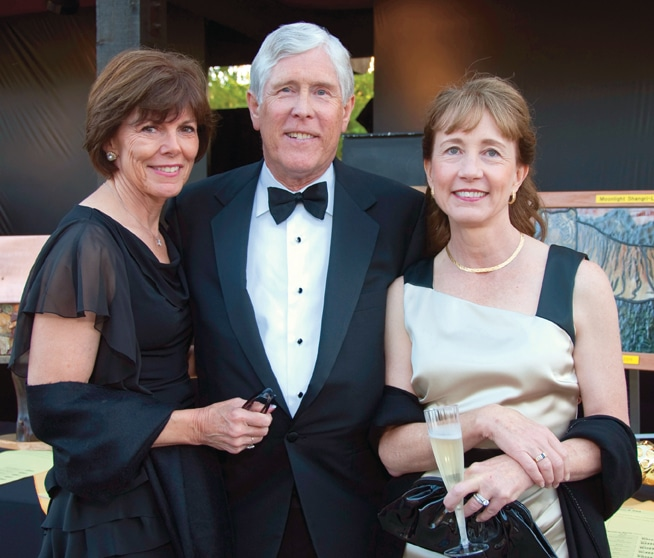 Alyce and Jim Ashcraft with Cathy Stiefel