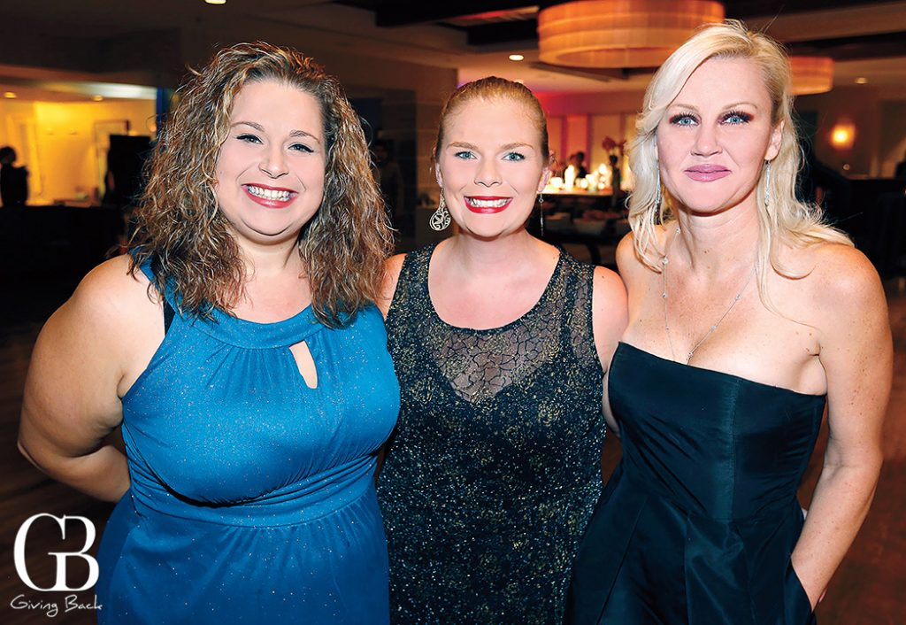 Amber Korody  Candace Shannon and Patricia Thompson