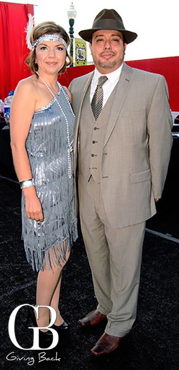 Amelia Vazquez and Alex Escalera