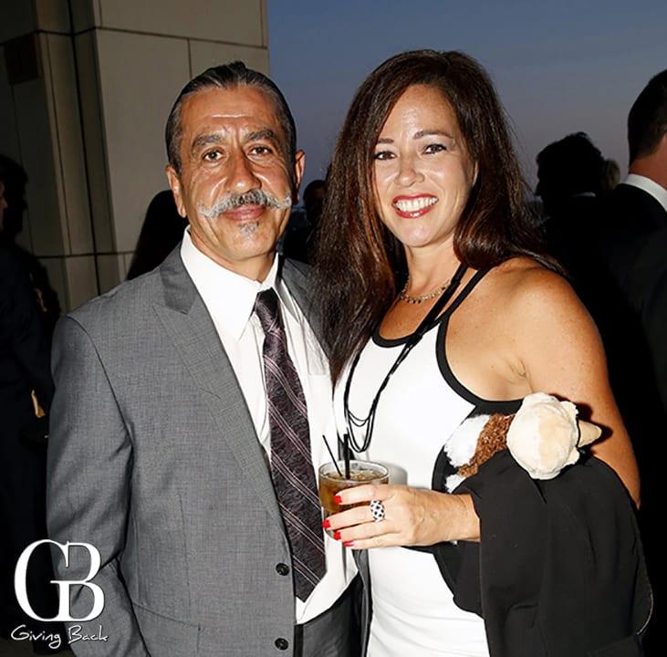Amir Iravani and Tammie Thomas