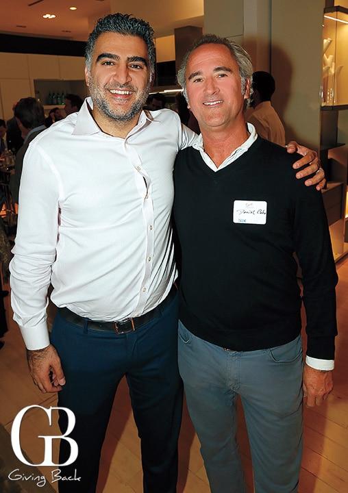 Amir Kazerani and Daniel Cabo
