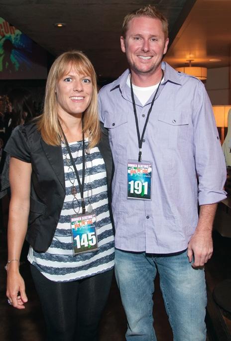 Amy Turnbull and Bill Burton