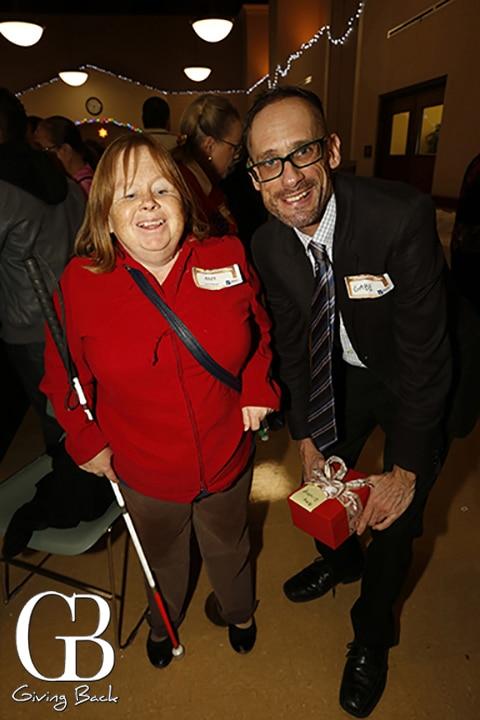 Amy Gilstrap and Gabe Selak