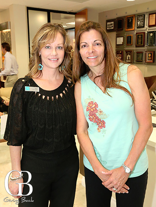 Amy Zimmerman and Julie Morton