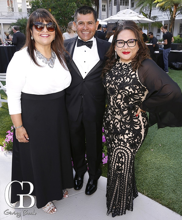 Ana Melgoza  Ruben Calleros and Pat Salas
