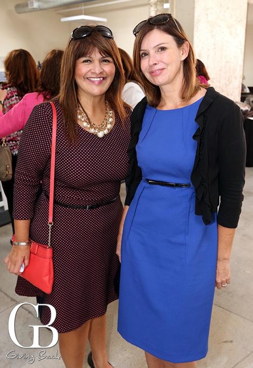 Ana Melgoza and Alicia Rodriguez