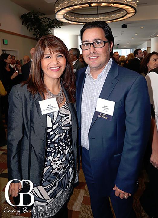 Ana Melgoza and John Ohanian