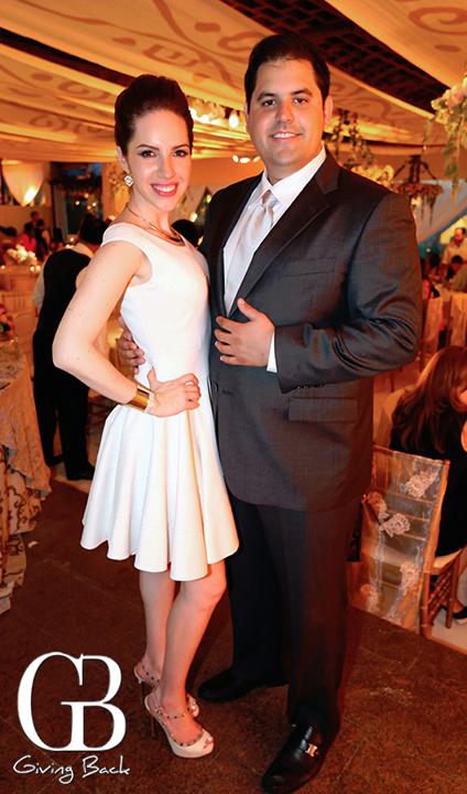 Ana Mercado y Christian Carrillo