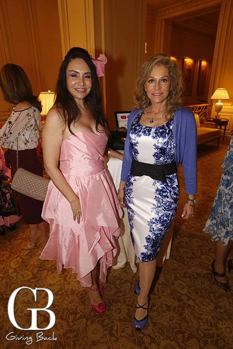 Ana Teresa Gonzalez and Roxana de Lyle