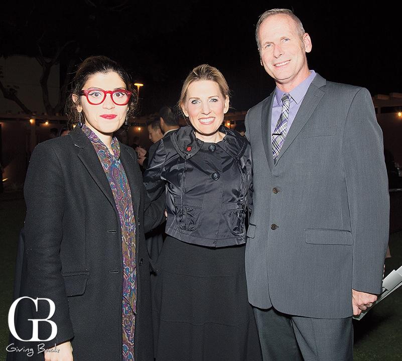 Anahita Ghazvinizadeh  Danielle Pyszczynski and John Brenner