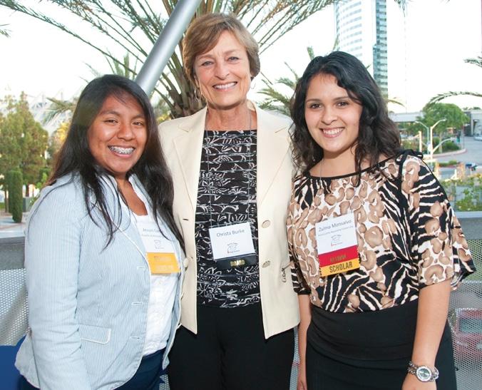 Anayeli Garcia, Christa Burke and Zulma Monsalvo
