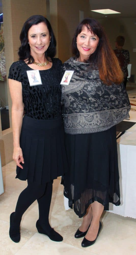 Andrea Wild and Suzie Barbey Booth.JPG
