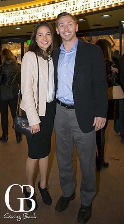 Andrea Davis and Oliver Brantley