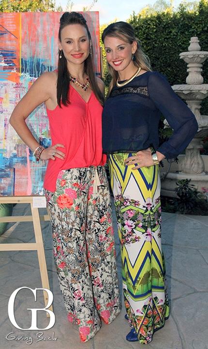 Andrea Duarte y Maria Amalia Hussong