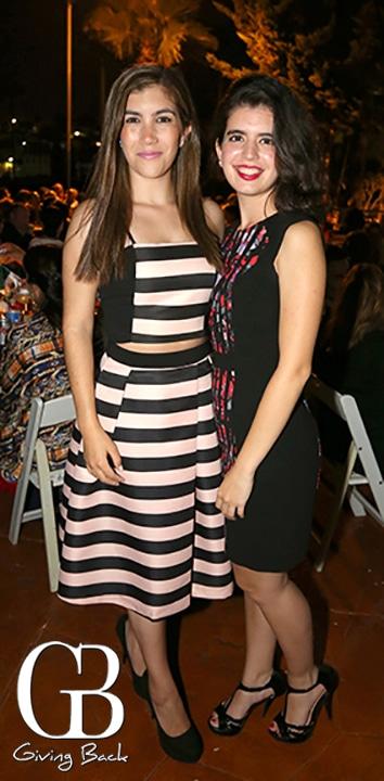 Andrea Garcia y Melissa Parra