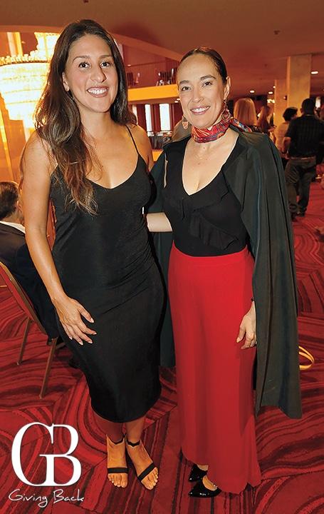 Andrea Lisa King and Gisel Stegmann Lopez