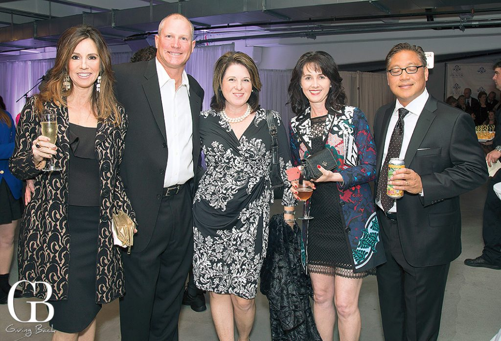 Andrea and Richard Hafenstein  Christine Lamarca with Joel and Anne Marie Tubao