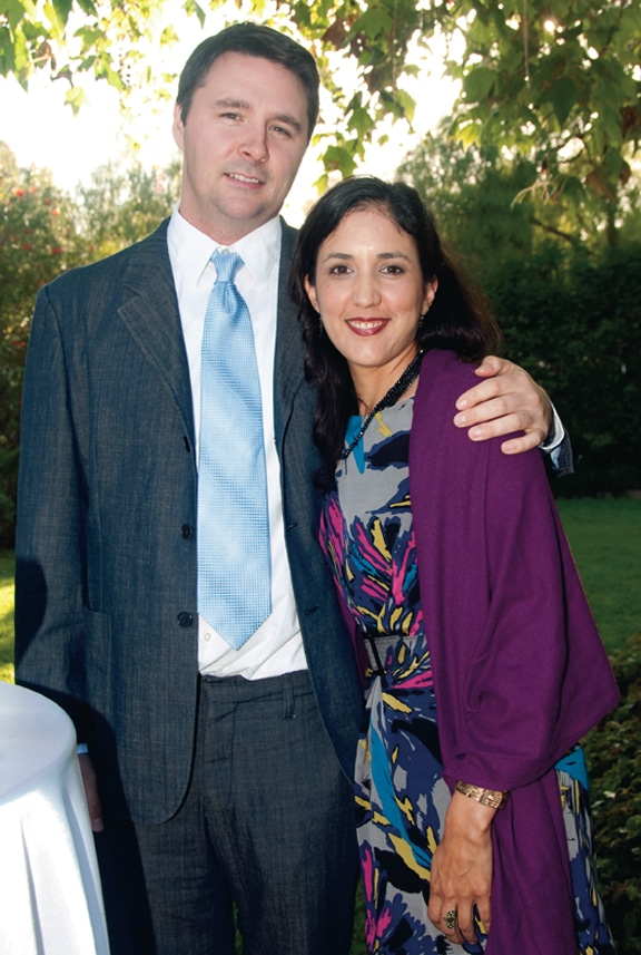Andrew Bracken and Melissa Diaz