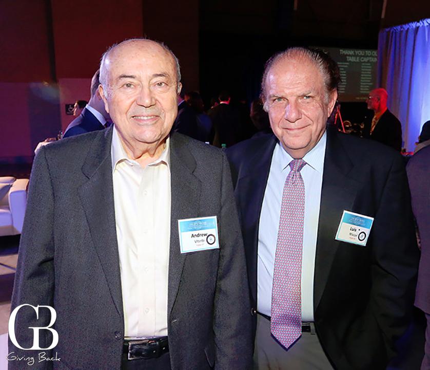 Andrew Viterbi and Luis Maizel