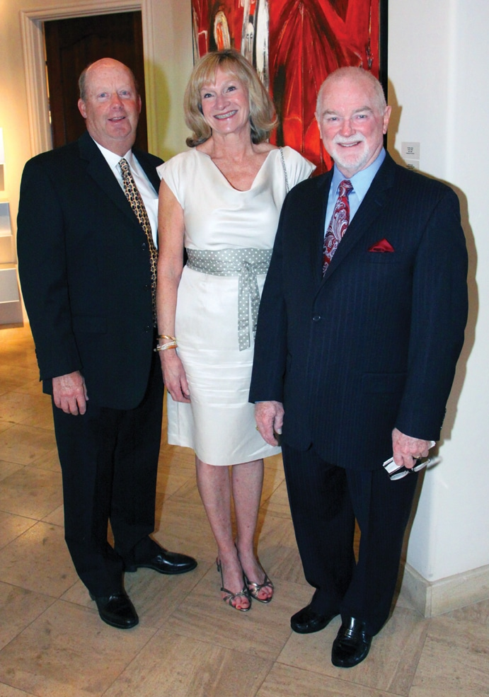 Andy and Ann Irwin with Ian Campbell.JPG
