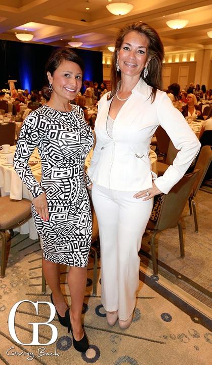 Angela Manzano and Rosanne Indermill