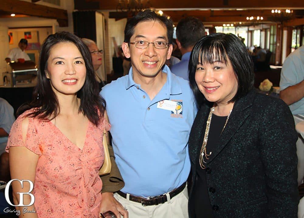 Angela Shiao  William Tseng and Lynette Sid