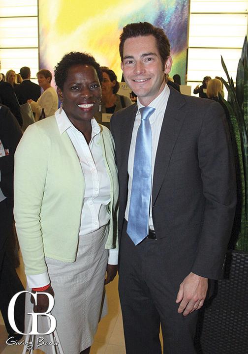 Angela Titus and Chris Carter