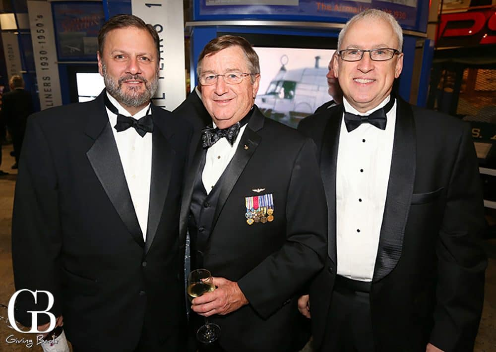 Angelo Iasiello  Capt. Frank Culbertson and Jim Vasatka