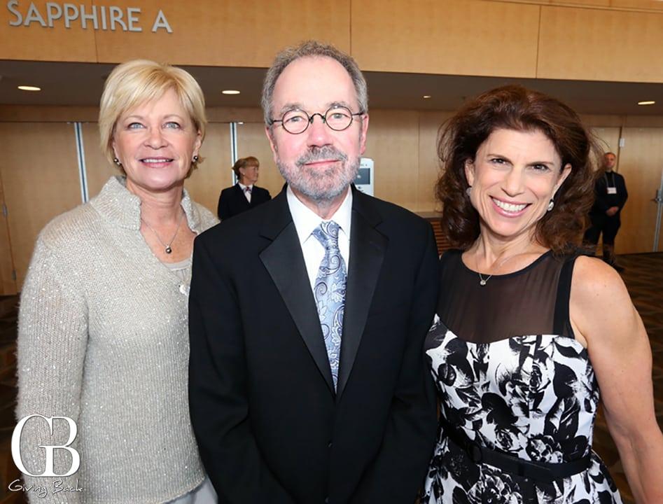 Anita Henderson  Jerry Haller and Deborah Bucksbaum