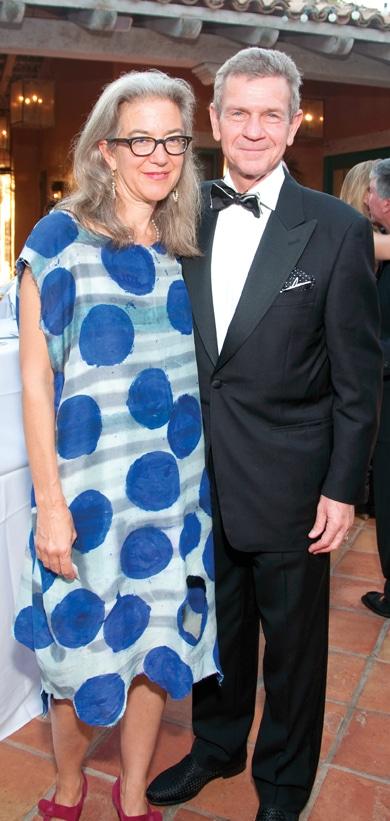 Ann Agee and Paul Robinson +