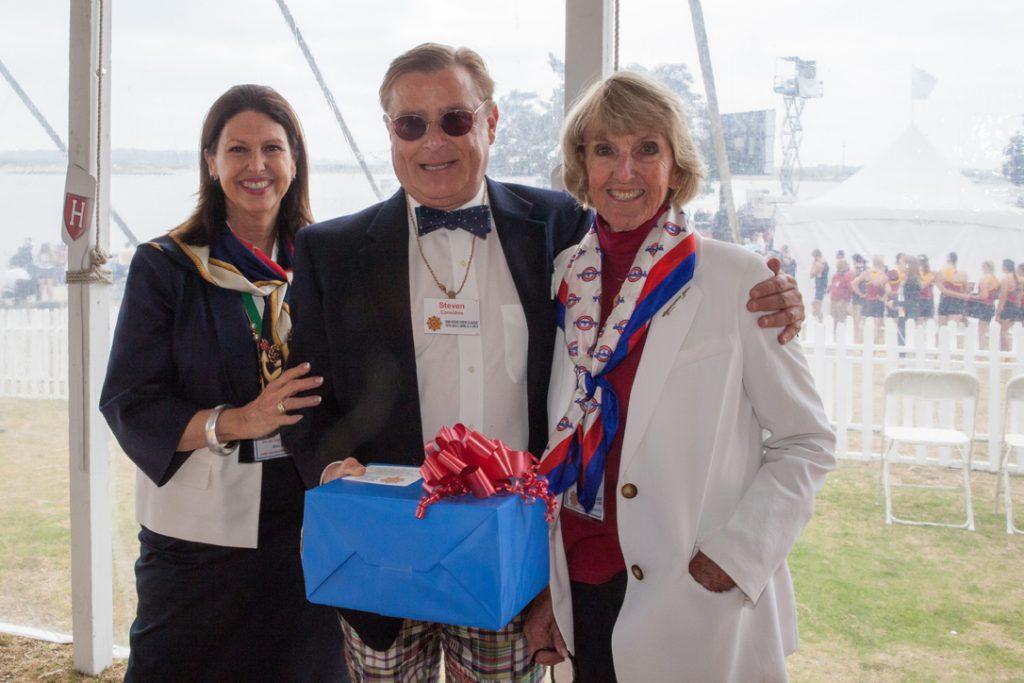 Ann Hill, Steven Considine and Jane Fetter