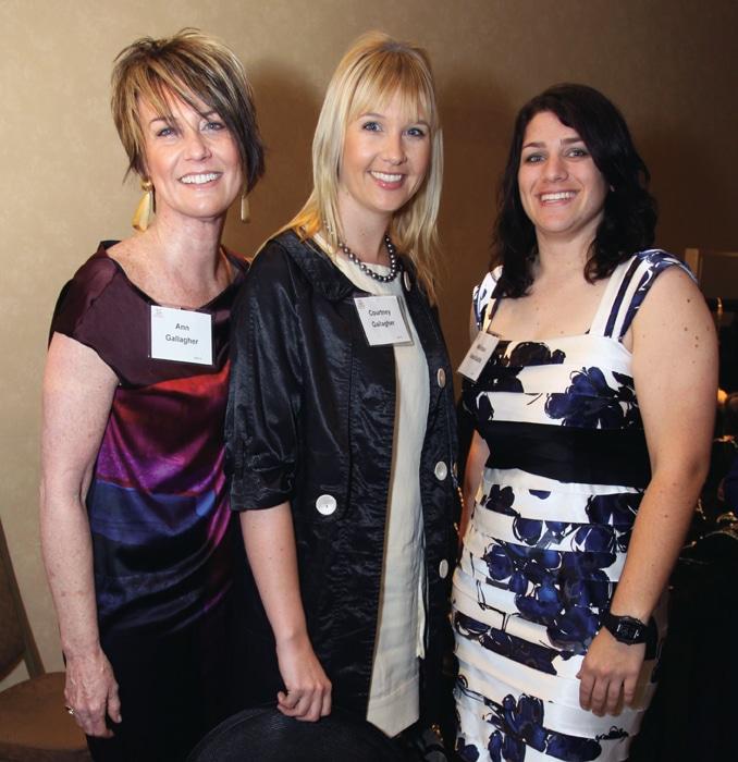 Ann and Courtney Gallagher with Melissa Vassiliadis.JPG