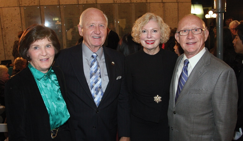 Ann and Ron DeFields with Pam Slater and Herschell Price.JPG