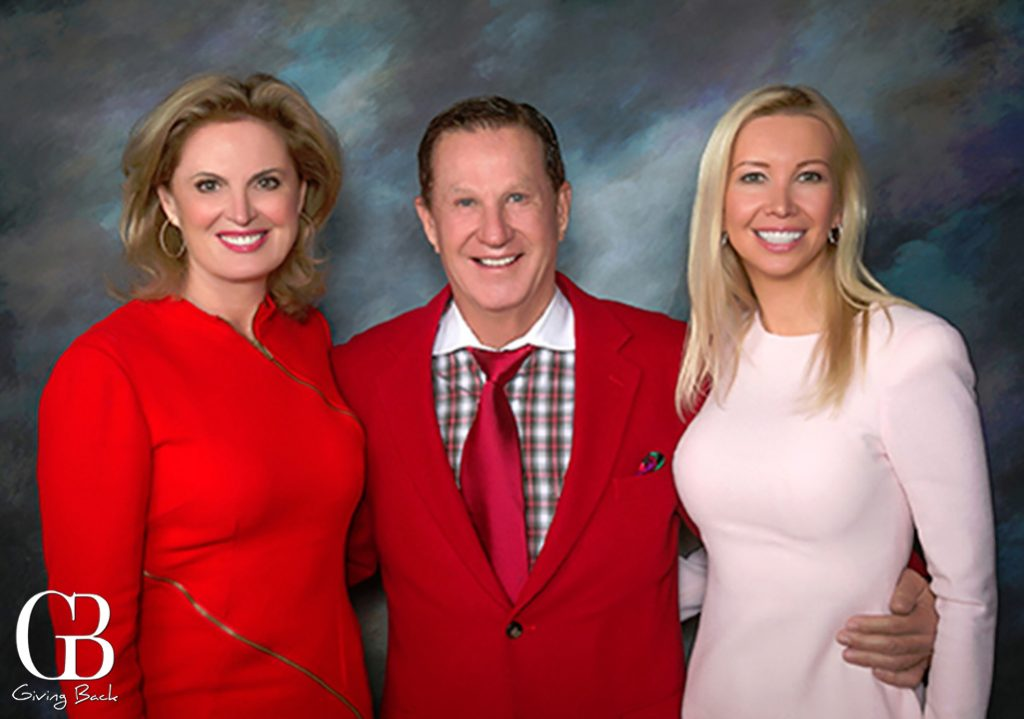 Ann Romney  Doug Manchester and Geniya Derzhavina