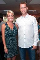 Anna Brock and Brad Boxberger