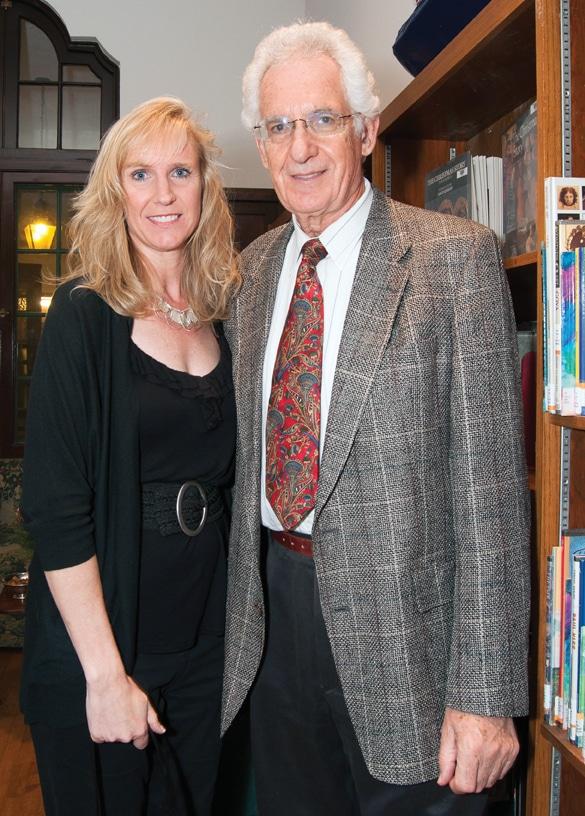 Anne Kuhnert and Martin Schultze